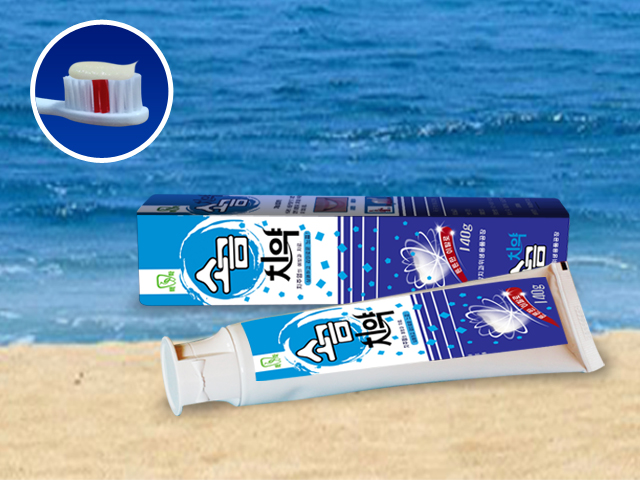 Toothpaste with Salt