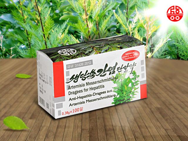 Artemisia messerschmidtiana Dragees against Hepatitis