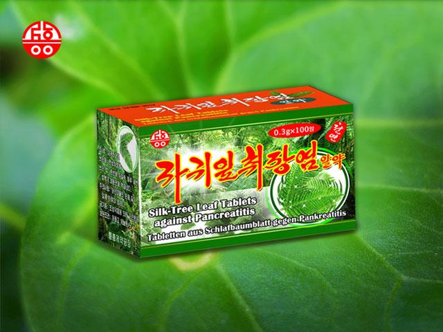 Silk-Tree Leaf Tablets against Pancreatitis