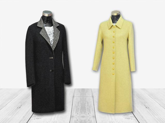 Handmade overcoat for women