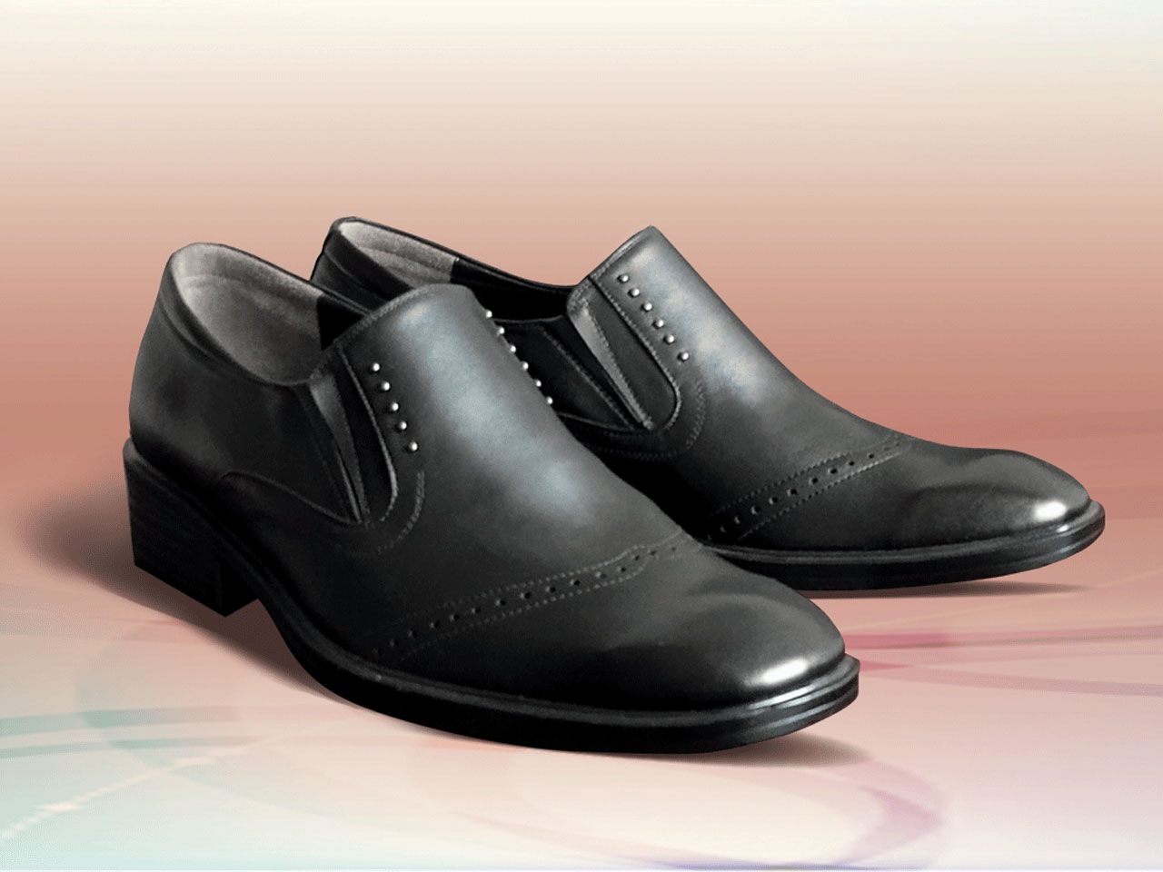Spring and autumn leather shoes for men