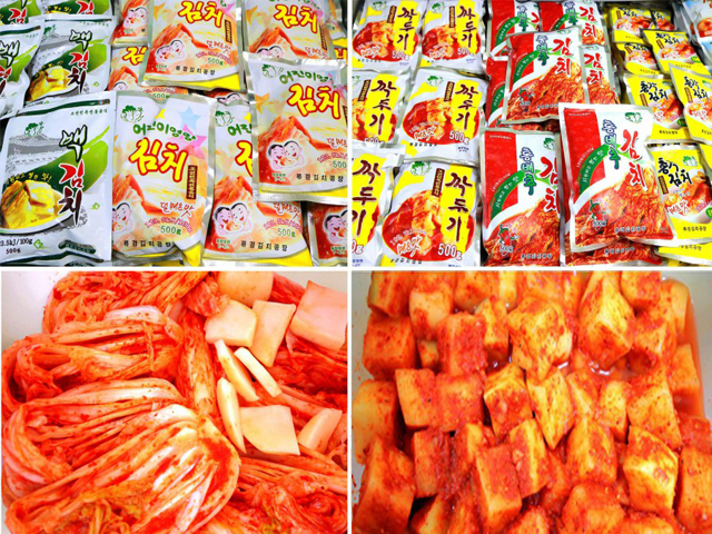 Industrialization of Kimchi production