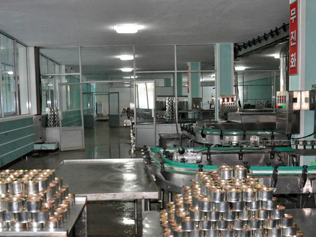 Reconstruction of Sinpho Canned Fish Plant